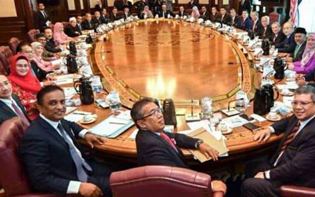 Menteri kena kuarantin, mesyuarat kabinet batal