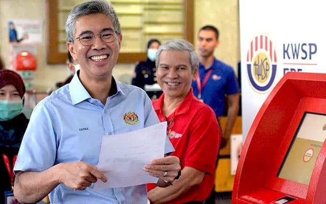 Terkini !!! Pengeluaran akaun 1 KWSP hingga RM 10 ribu dibenarkan – Menteri Kewangan