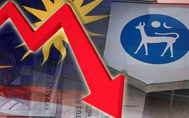 Gempar !!! Saham dan matawang Malaysia jatuh merudum ekoran pengumuman darurat
