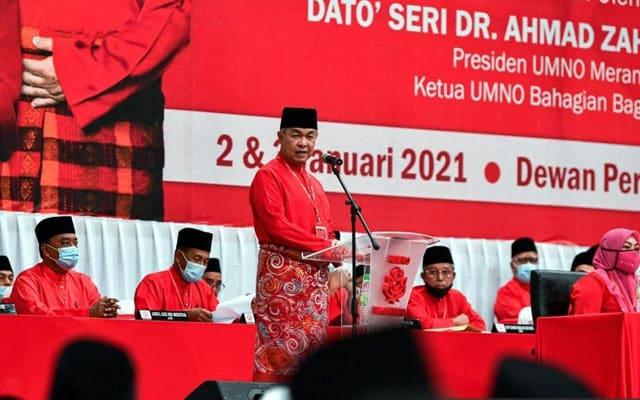 Kekal dengan Pas, putus dengan Bersatu : Umno minta perwakilan putuskan